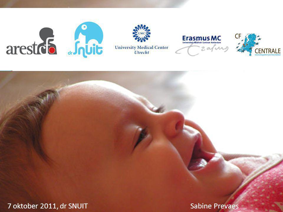 7 oktober 2011, dr SNUIT Sabine Prevaes