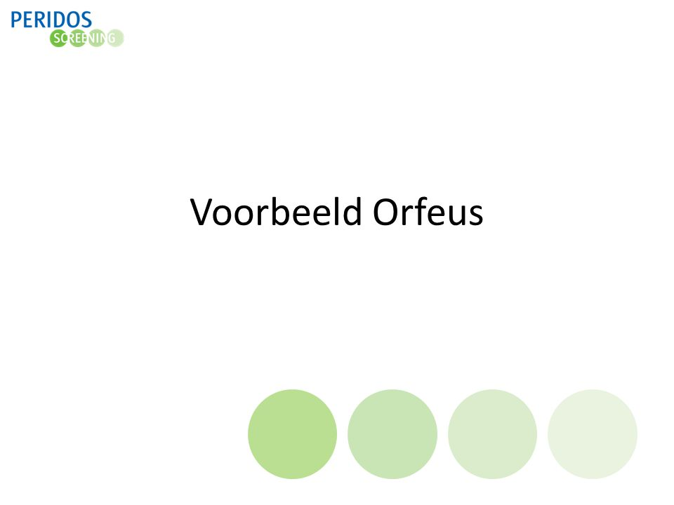 Voorbeeld Orfeus