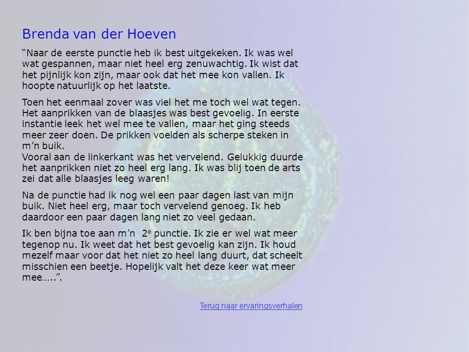 Brenda van der Hoeven