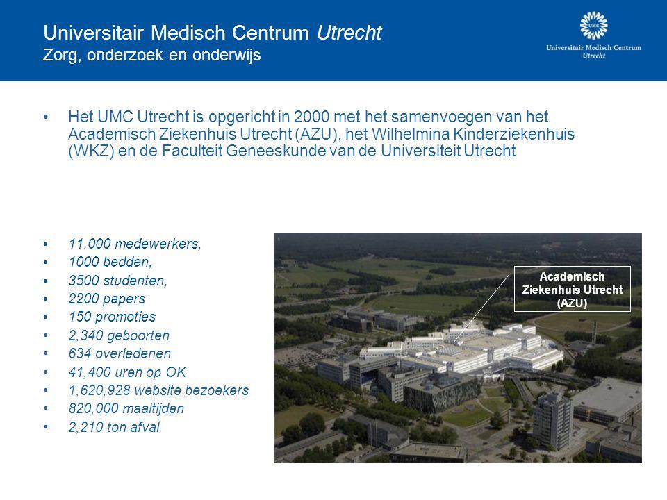 Universitair Medisch Centrum Utrecht Zorg, onderzoek en onderwijs