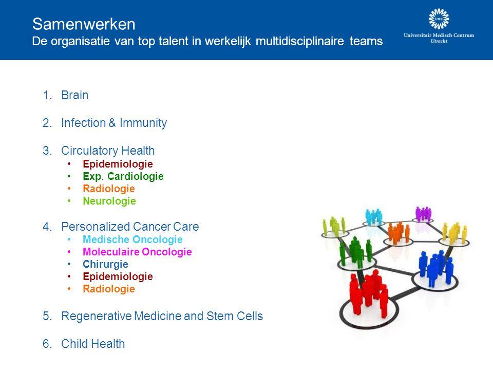 Samenwerken De organisatie van top talent in werkelijk multidisciplinaire teams