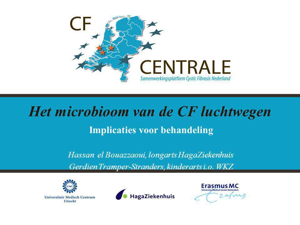 Het microbioom van de CF luchtwegen
