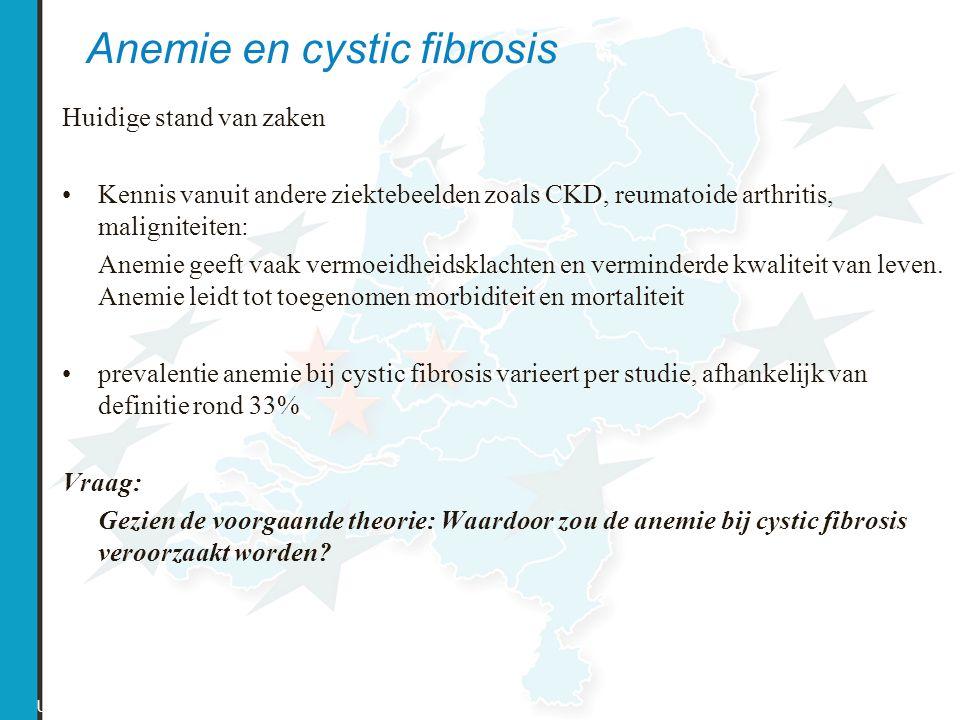 Anemie en cystic fibrosis