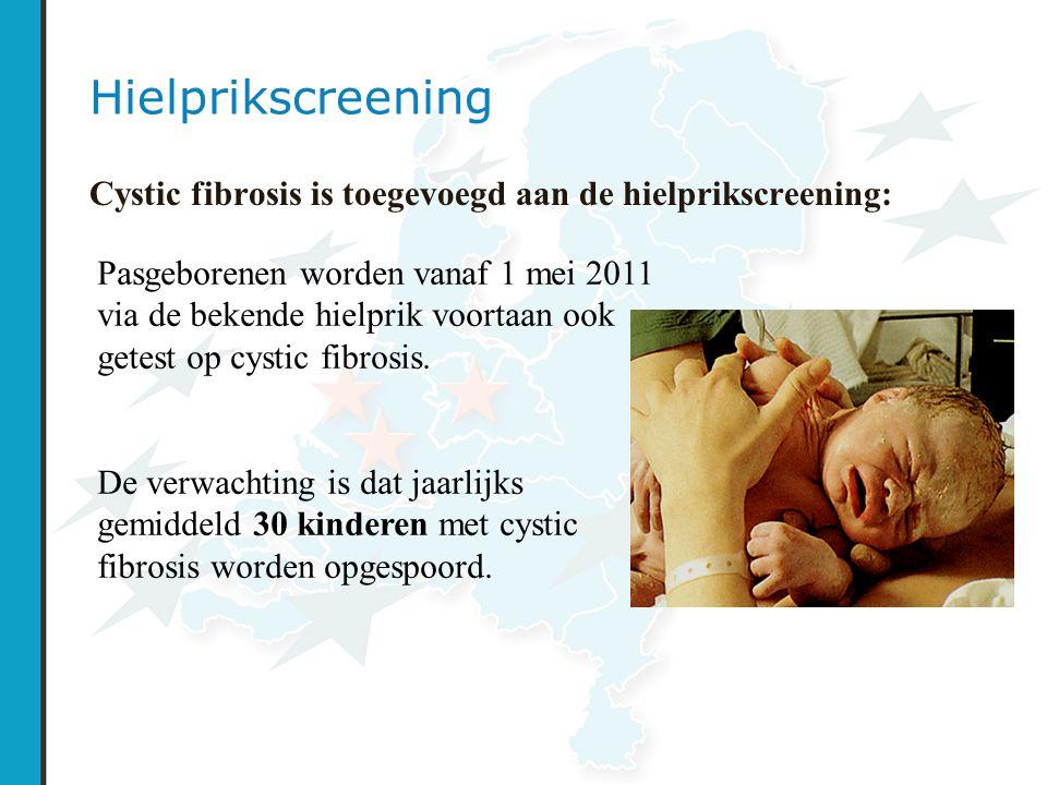 Hielprikscreening Cystic fibrosis is toegevoegd aan de hielprikscreening: