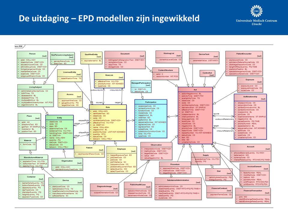 De uitdaging – EPD modellen zijn ingewikkeld
