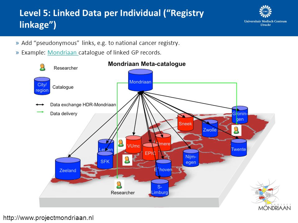 Level 5: Linked Data per Individual ( Registry linkage )