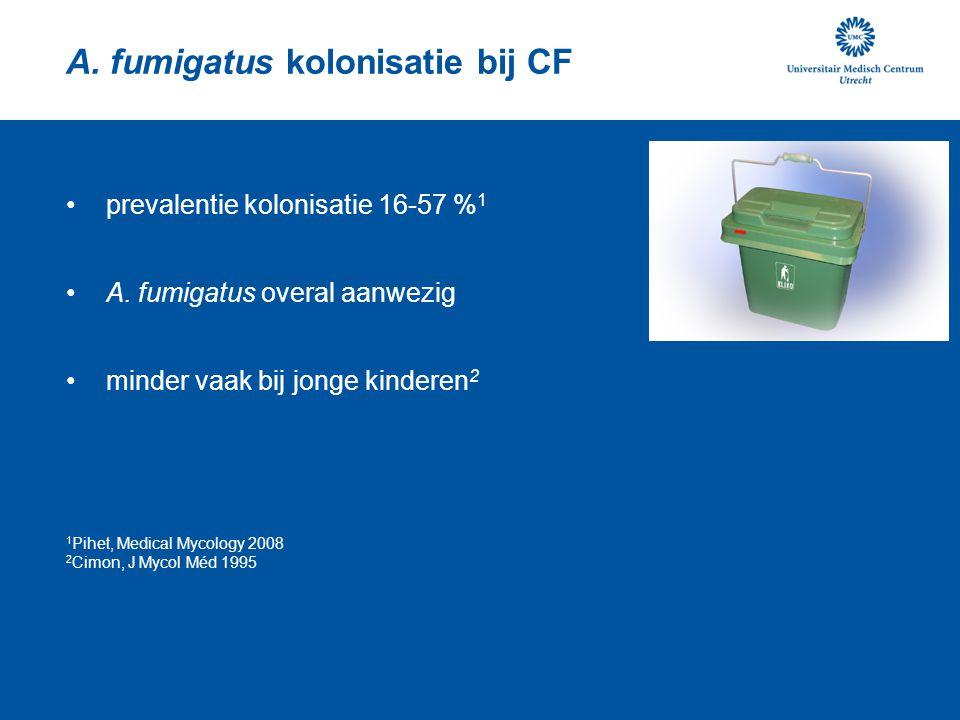 A. fumigatus kolonisatie bij CF