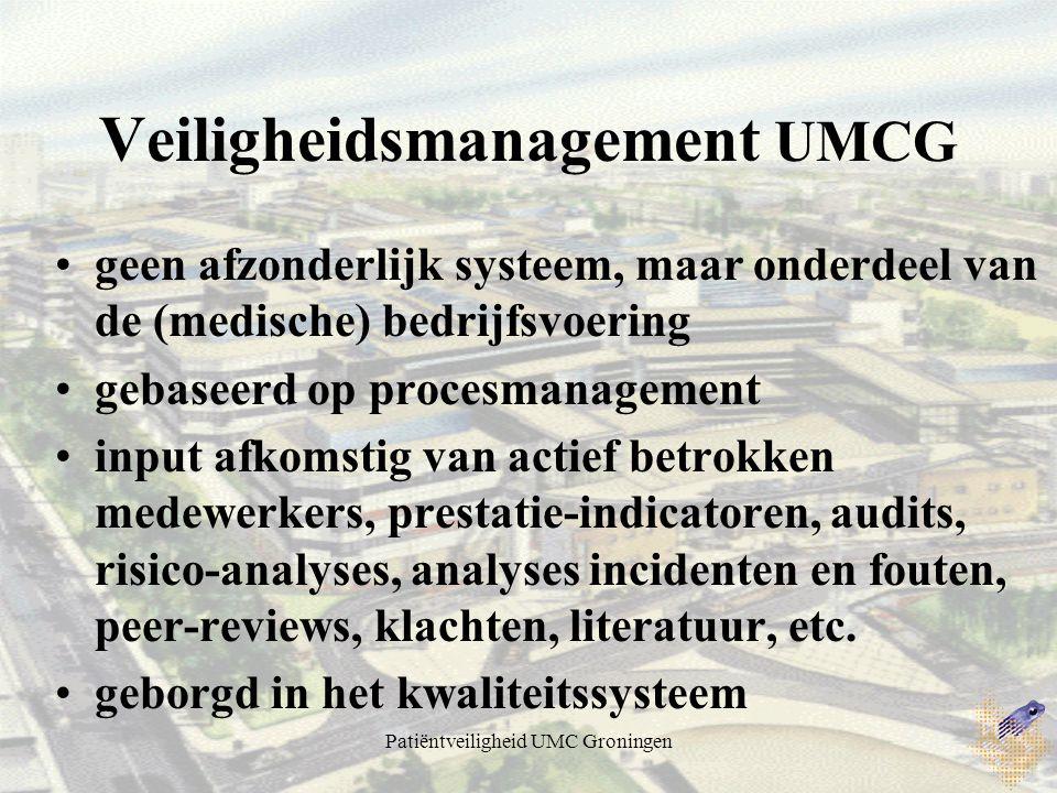 Veiligheidsmanagement UMCG