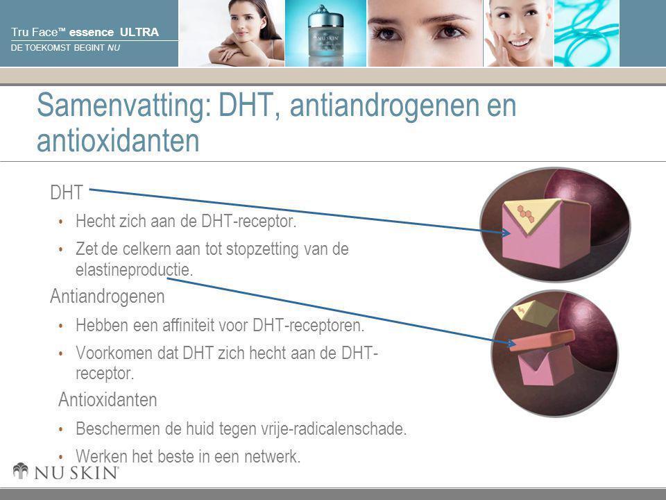Samenvatting: DHT, antiandrogenen en antioxidanten