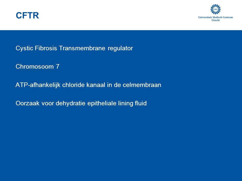 CFTR Cystic Fibrosis Transmembrane regulator Chromosoom 7