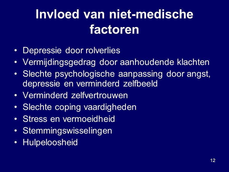 Invloed van niet-medische factoren