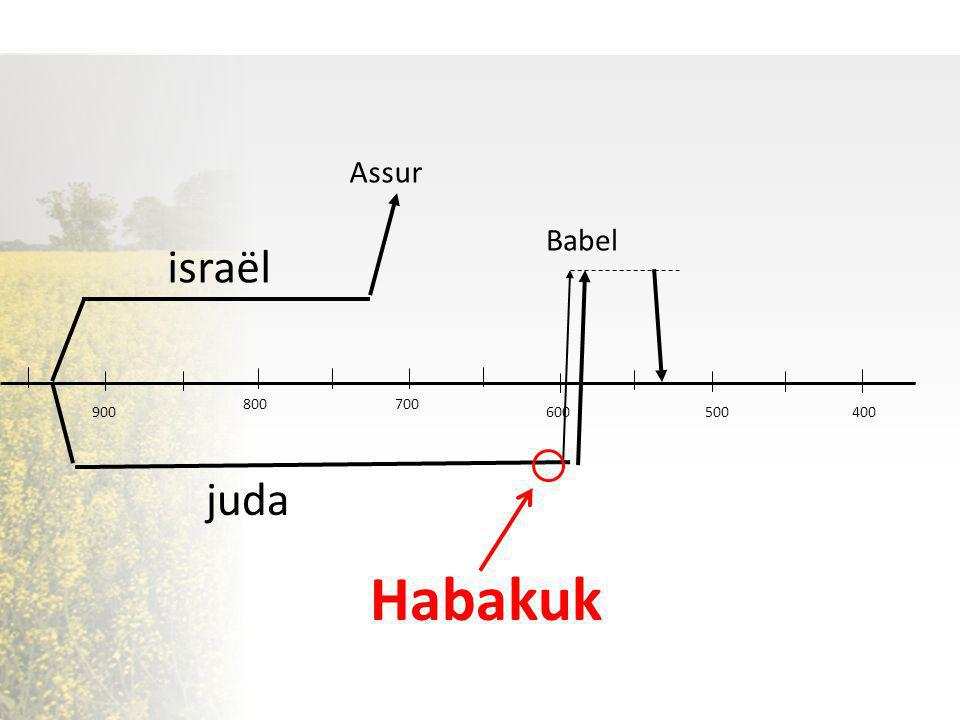 Habakuk israël juda Assur Babel 800 700 900 600 500 400