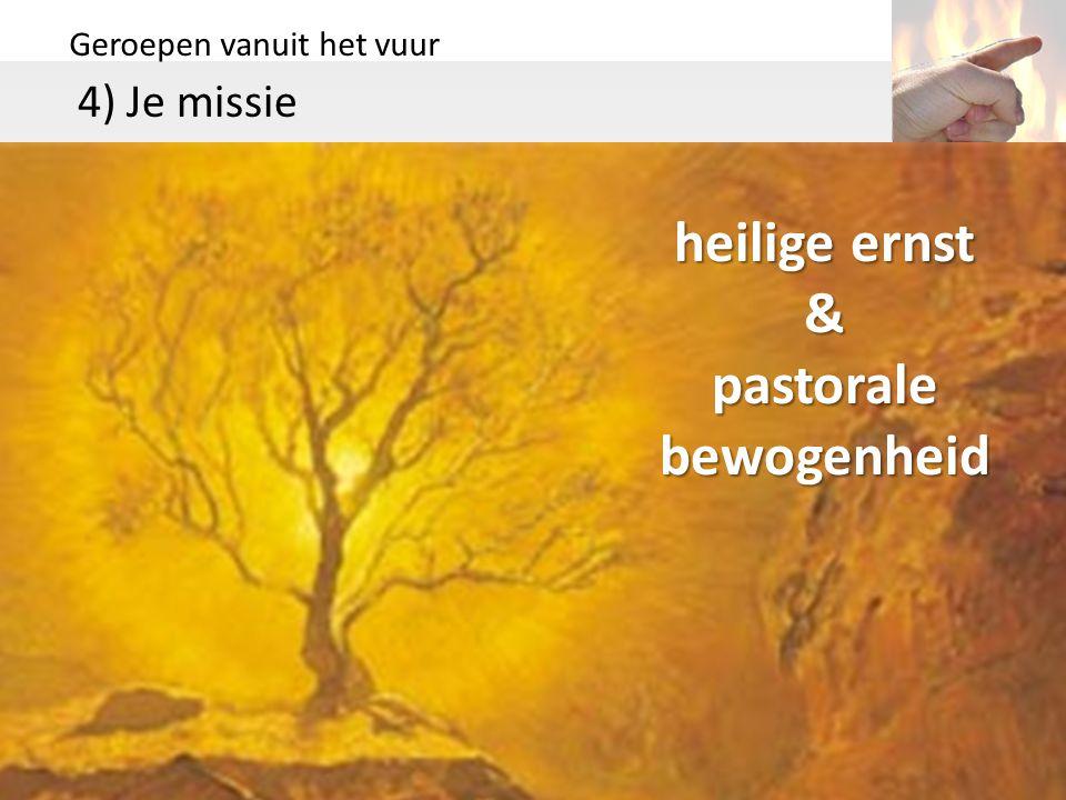 & pastorale bewogenheid