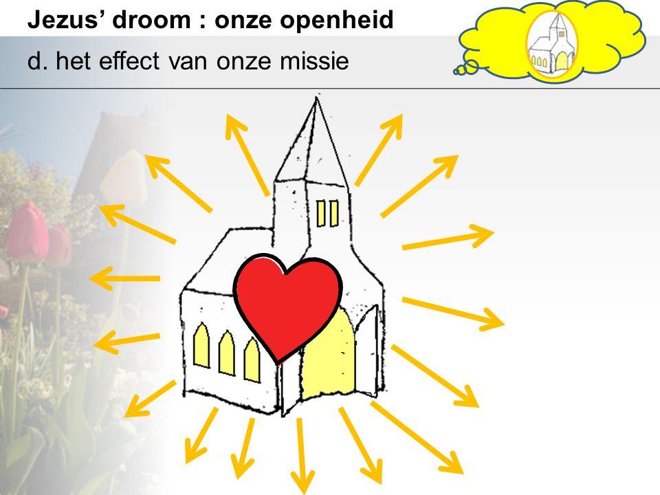 Jezus' droom : onze openheid