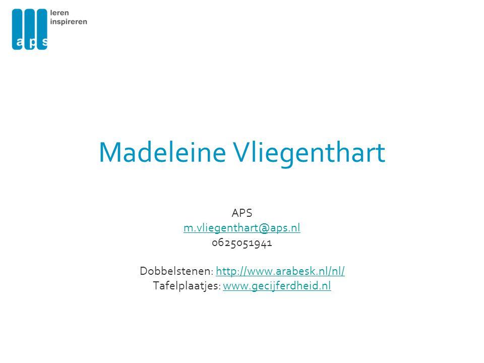 Madeleine Vliegenthart