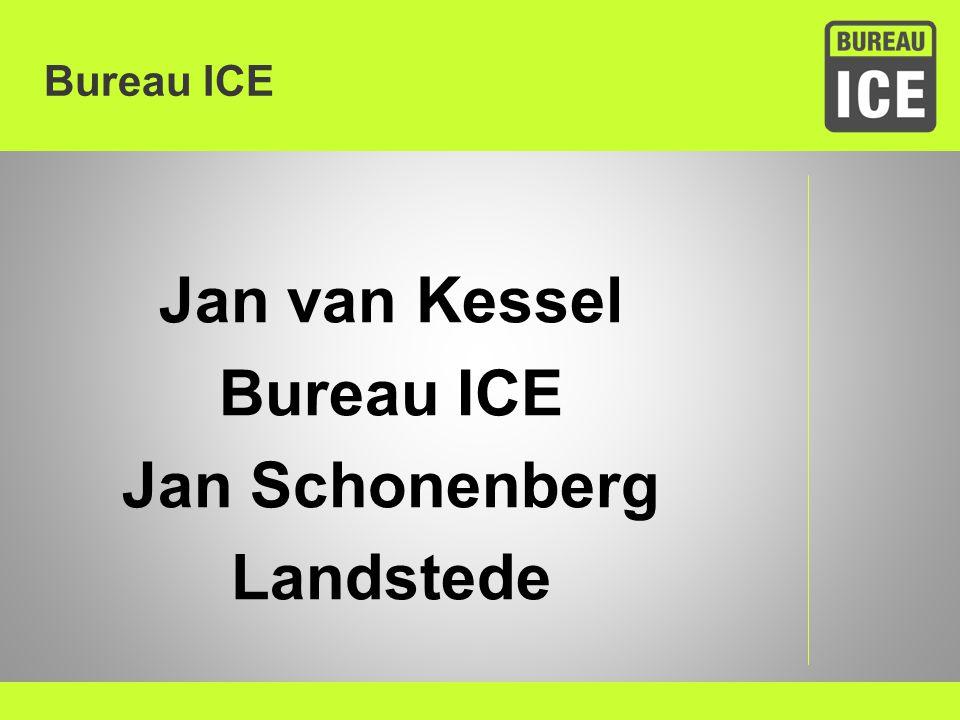 Jan van Kessel Bureau ICE Jan Schonenberg Landstede