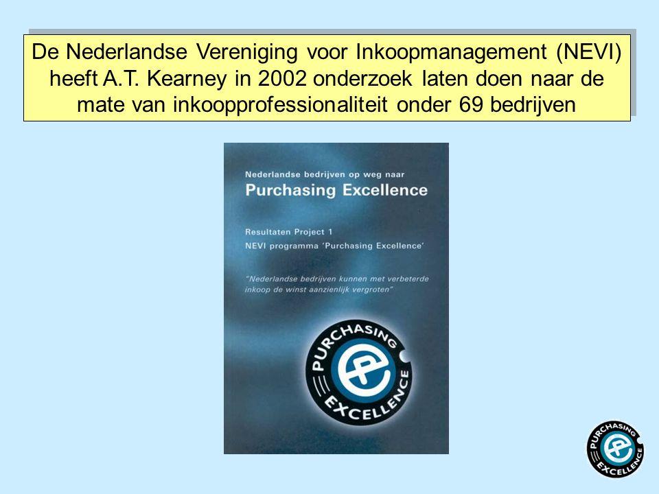 De Nederlandse Vereniging voor Inkoopmanagement (NEVI) heeft A. T