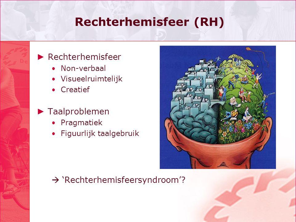Rechterhemisfeer (RH)