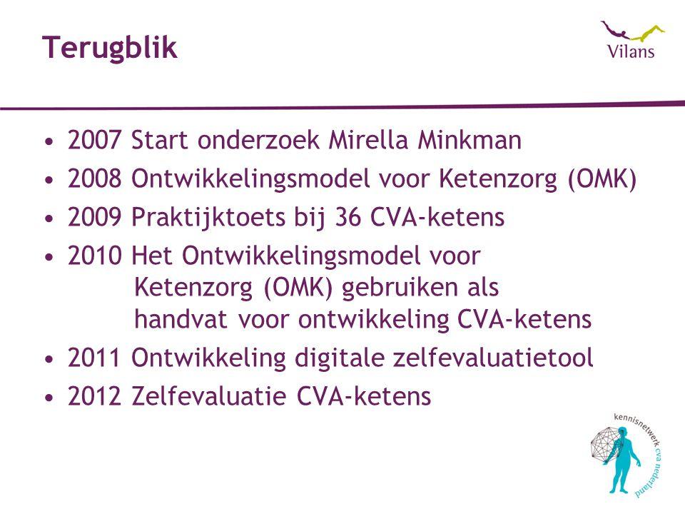 Terugblik 2007 Start onderzoek Mirella Minkman