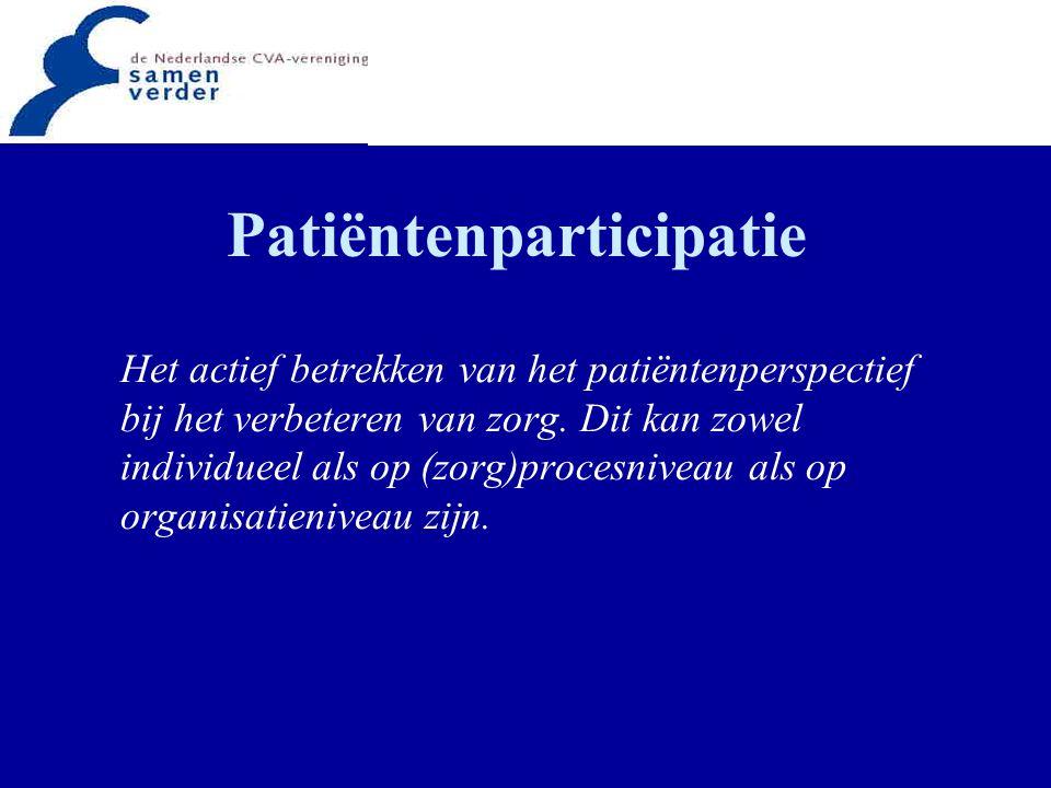 Patiëntenparticipatie