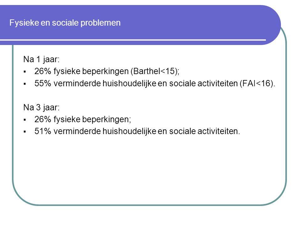 Fysieke en sociale problemen