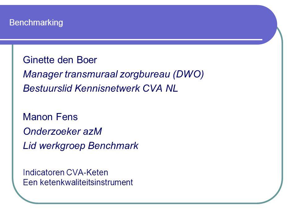 Manager transmuraal zorgbureau (DWO) Bestuurslid Kennisnetwerk CVA NL
