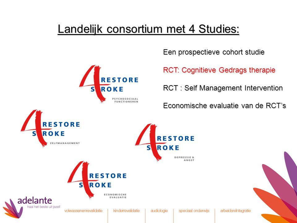 Landelijk consortium met 4 Studies: