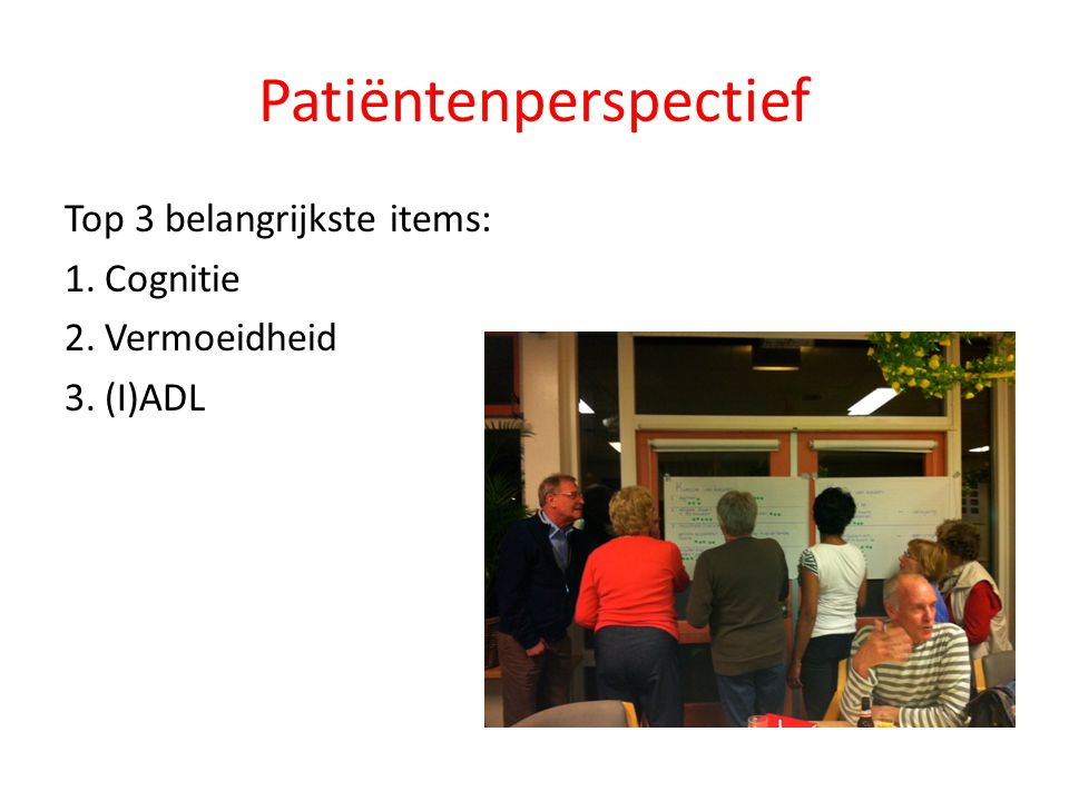 Patiëntenperspectief
