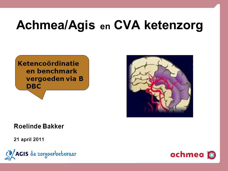 Achmea/Agis en CVA ketenzorg