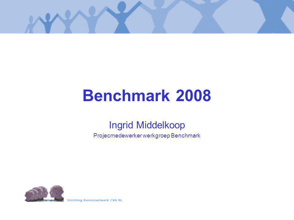 Ingrid Middelkoop Projecmedewerker werkgroep Benchmark