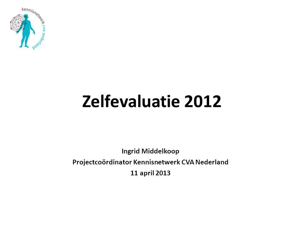 Projectcoördinator Kennisnetwerk CVA Nederland