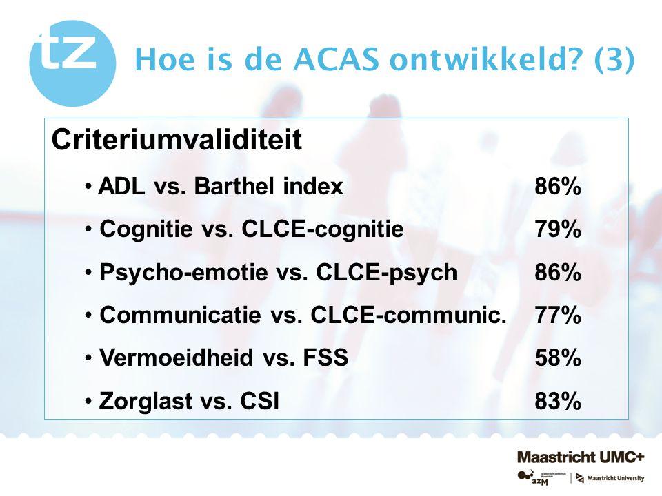 Hoe is de ACAS ontwikkeld (3)