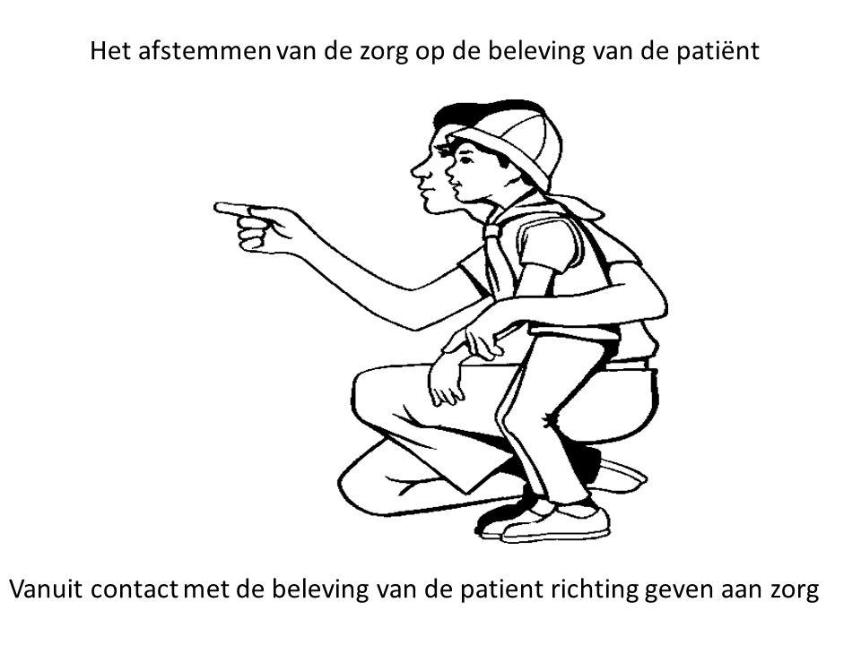 Het afstemmen van de zorg op de beleving van de patiënt