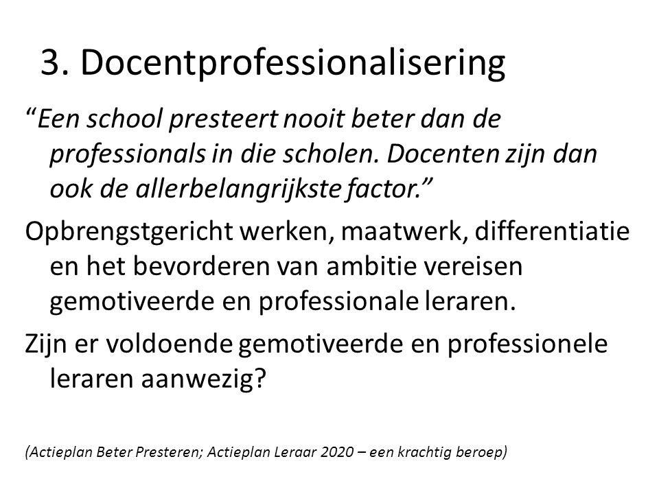 3. Docentprofessionalisering