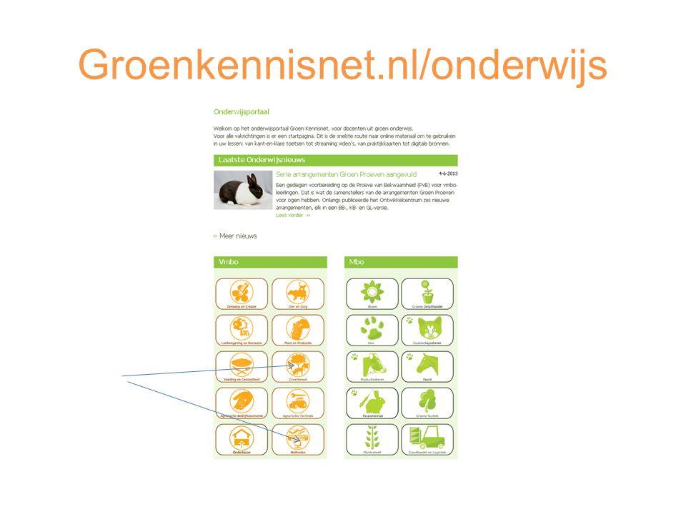 Groenkennisnet.nl/onderwijs