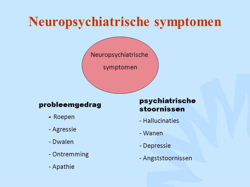 Neuropsychiatrische symptomen