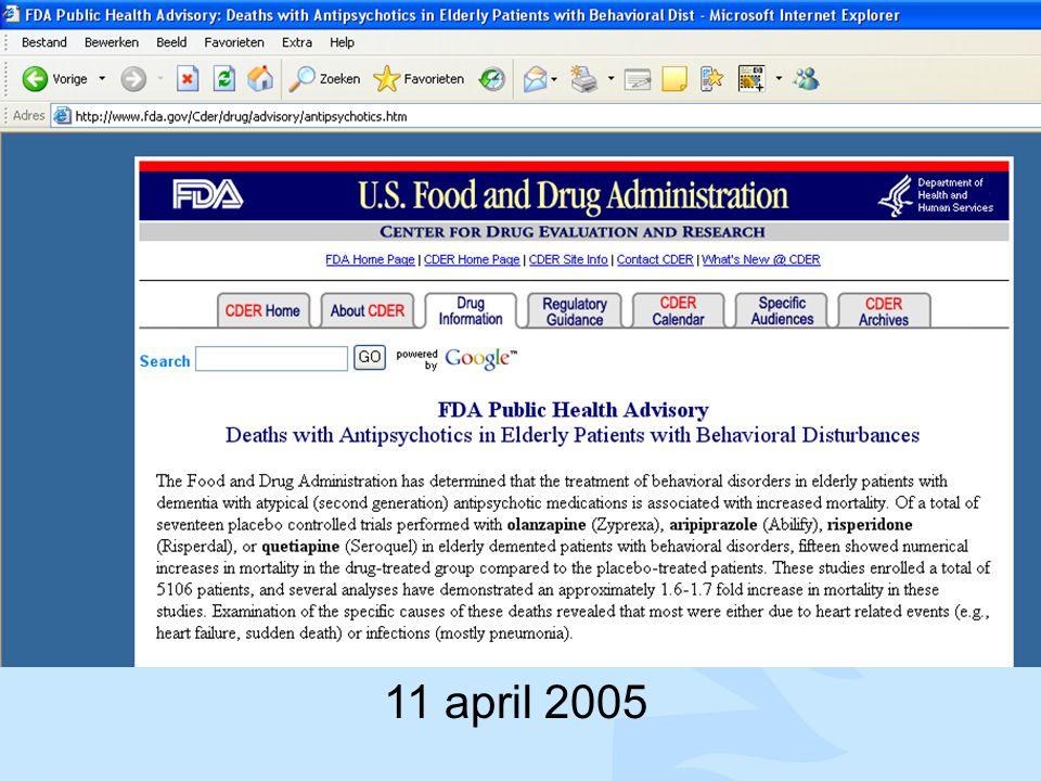 11 april 2005