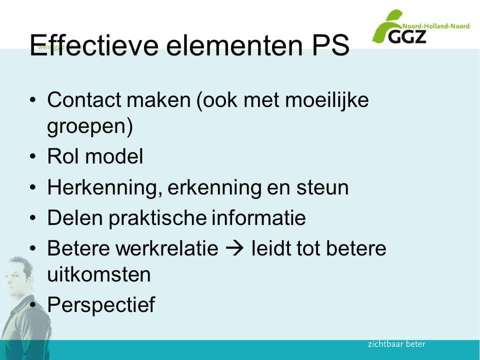 Effectieve elementen PS
