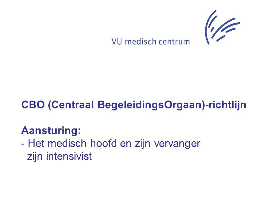 CBO (Centraal BegeleidingsOrgaan)-richtlijn