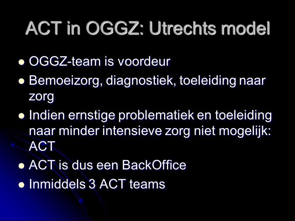ACT in OGGZ: Utrechts model