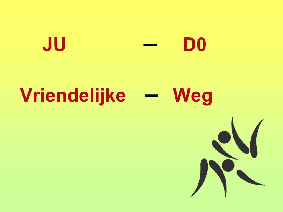 JU – D0 Vriendelijke – Weg