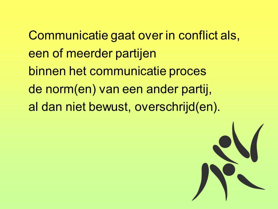 een of meerder partijen binnen het communicatie proces