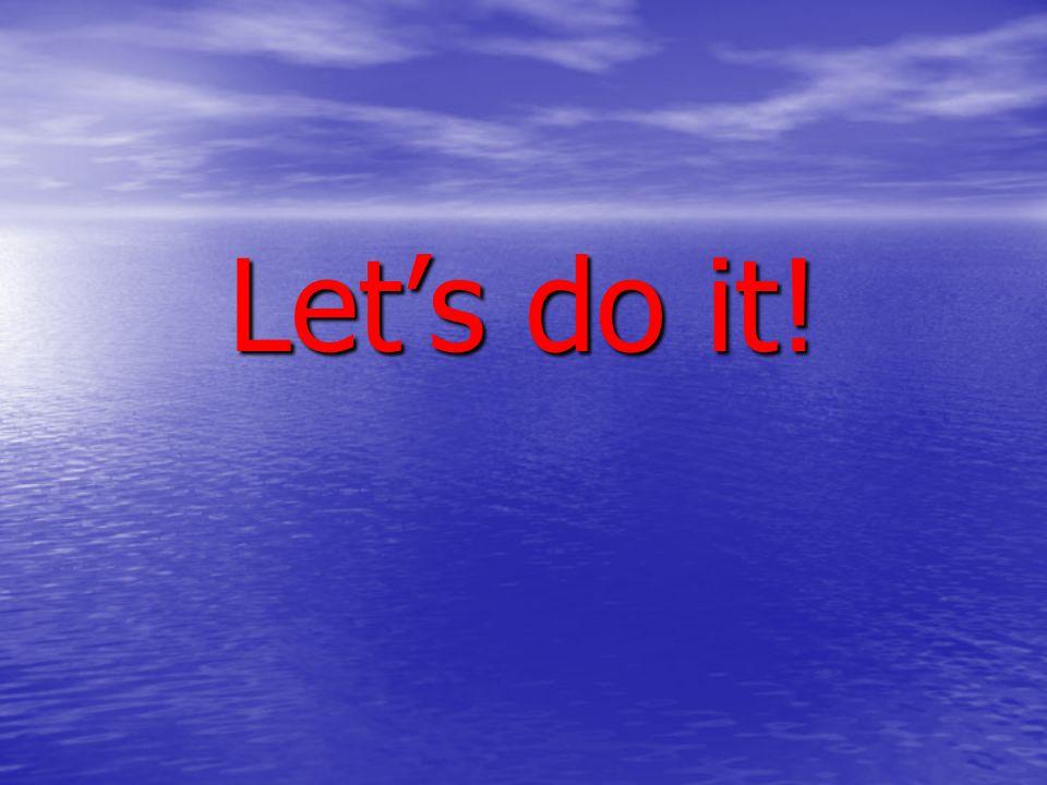 Let's do it! Hogeschool Inholland Lectoraat GGZ-verpleegkunde