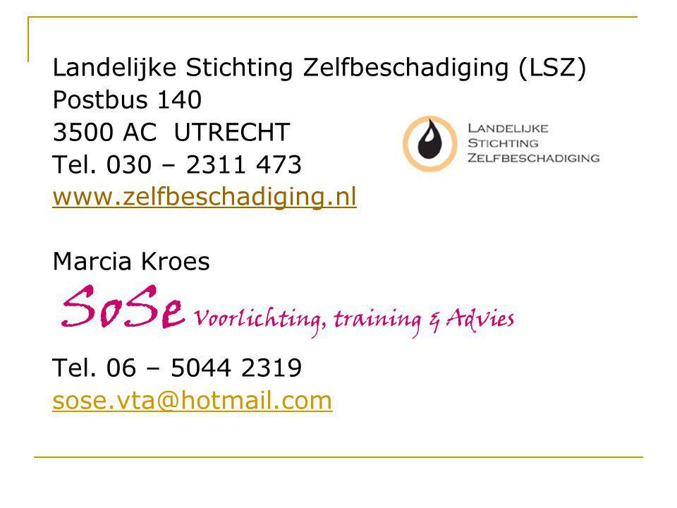 Landelijke Stichting Zelfbeschadiging (LSZ)