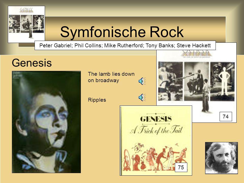 Symfonische Rock Genesis