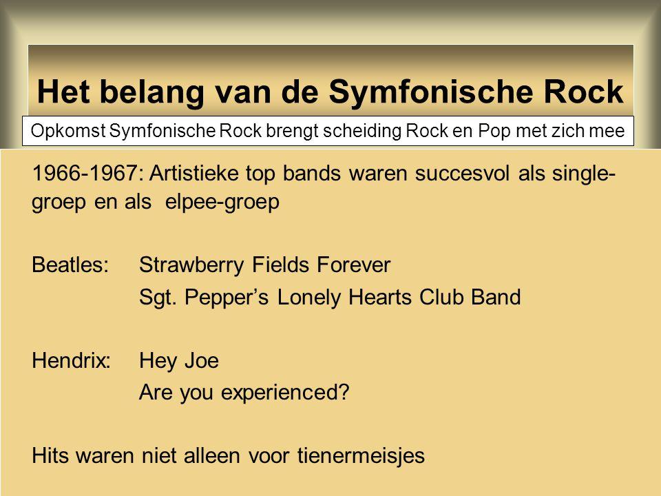 Het belang van de Symfonische Rock