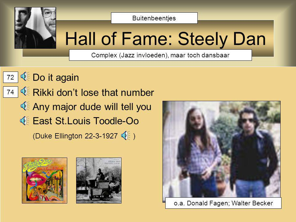Hall of Fame: Steely Dan