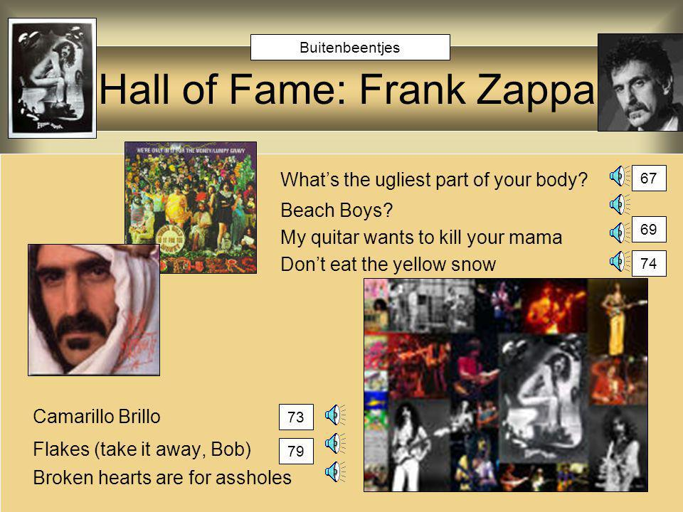 Hall of Fame: Frank Zappa