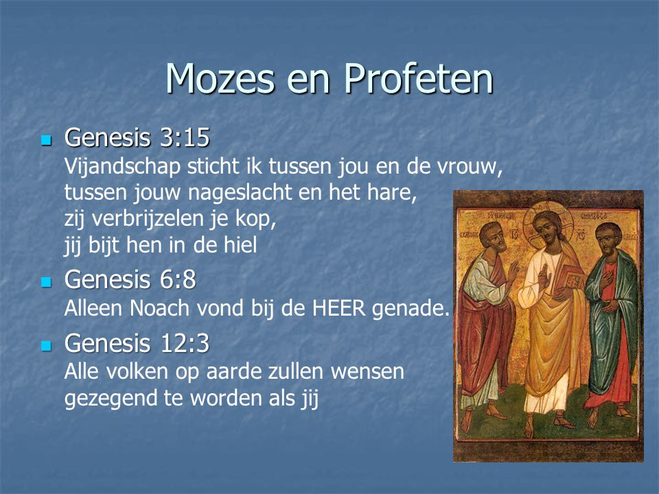 Mozes en Profeten