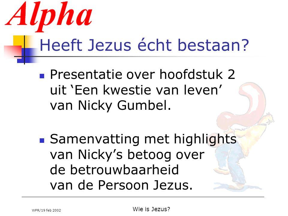Heeft Jezus écht bestaan
